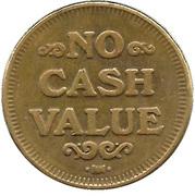 Carwash Token (No Cash Value; HM; 25 mm) – reverse