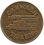 Carwash Token (3 Vehicle design) – reverse