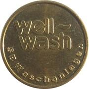 Car Wash Token - Well Wash – reverse