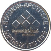 Stadion Taler - Stadion Apotheke (Bad Salzungen) – obverse