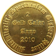 2 Gold Taler - Live Action Role Playing (Spectaculum) – reverse