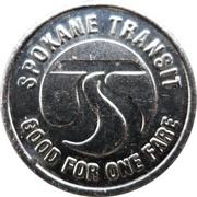 1 Fare - Spokane Transit (Spokane, Washington) – obverse