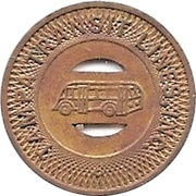 1 School Fare - Tampa Transit Lines, Inc. (Tampa, Florida) – obverse