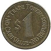1 Dollar - Ford City Carwash (Pennsylvania) – reverse