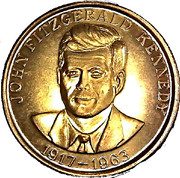 Token - John Fitzgerald Kennedy – obverse