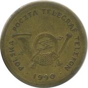 """Telephone Token - Poczta Polska (""""C"""") – obverse"""