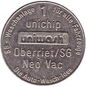 1 Unichip - Uniwash (Oberriet) – obverse