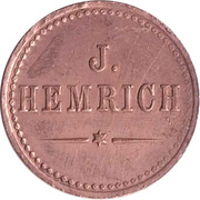 10 Pfennig (Werth Marke; J. Hemrich) – obverse