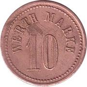 10 Pfennig (Werth Marke; J. Hemrich) – reverse