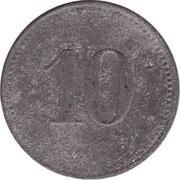 10 Pfennig (Wert-Marke) – reverse