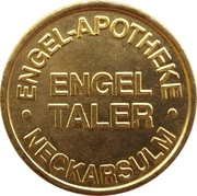 Engel Taler - Engel Apotheke (Heilbronn, Neckarsulm) – reverse