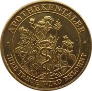 Apothekentaler - Aeskulap Apotheke (Aachen) – reverse