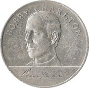 Esso Token - 1970 England World Cup Squad (Bobby Charlton) – obverse