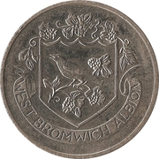 Esso Token - FA Cup Centenary 1872-1972 (West Bromwich Albion) – obverse