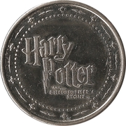 Token - Harry Potter and the Philosopher's Stone (Hufflepuff) – reverse