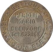 Token - Gettone Apparecchi Elettrici (Mario Perotti, Brenzone) – obverse