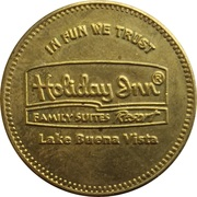 Game Token - Holiday Inn - Locomotion (Lake Buena Vista) – obverse