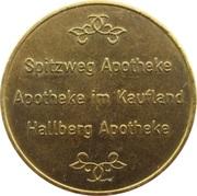 1 Apotheken Mark - Spitzweg Apotheke & Apotheke im Kaufland & Hallberg Apotheke – obverse