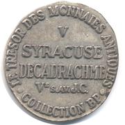 Token Collection BP - Le Trésor des Monnaies Antiques (№V - Syracuse Decadrachme) – reverse