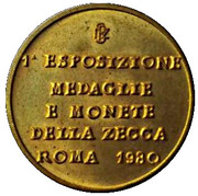 Token - Poligrafico Institute – obverse
