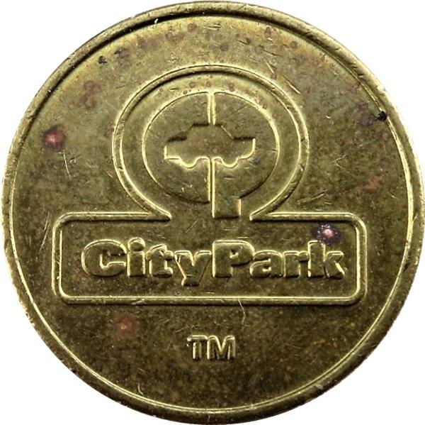 CityPark Seattle, Washington parking token
