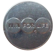 Token - Ancienne Belgique (Win for Life) – obverse