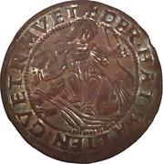 Counter Token - Maximilian I Holy Roman Emperor (Hall) – obverse