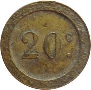20 Centimes - Z – reverse