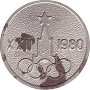 Token - Moscow Olympics 1980 – obverse