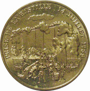 Token - Bicentennial of the capture of the Bastille – obverse