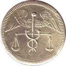 Spiel Marke (Caduceus; 19 mm) – obverse