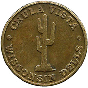 Token - Chula Vista Resort – obverse