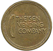 Token - Grand Slam Sports (Theisen Vending) – reverse