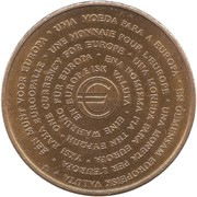 1 Euro (Region Haute-Normandie) – obverse