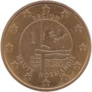 1 Euro (Region Haute-Normandie) – reverse