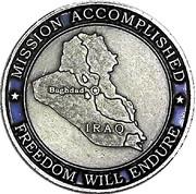 Token - Operation Iraqi Freedom – reverse