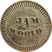 Token - Jam World (Taichung, Taiwan) – reverse