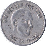 Nedicks Nickel – obverse