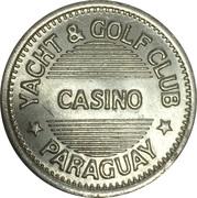Casino Token - Yacht & Golf Club – obverse