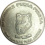 Token - Showbiz Pizza Fiesta – obverse