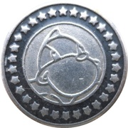 Token - Dino's World (Blue) – obverse