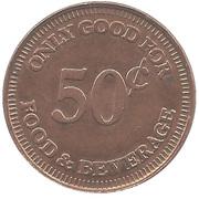 50 Cents - Twin Creeks (Sunnyvale, California) – reverse