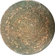 Token - Aztec Calendar – obverse