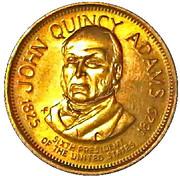 Token - John Quincy Adams – obverse