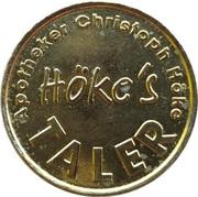 Höke's Taler - Apotheke Christoph Höke – reverse