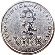 Amusement Token - Dodo – obverse