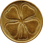 Token (Four-leaf clover) – obverse