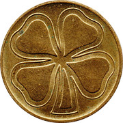 Token (Four-leaf clover) – reverse