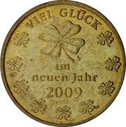 New Year Lucky Token - Viel Glück – reverse