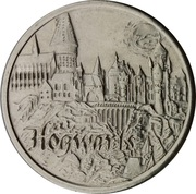 Token - Harry Potter and the Philosopher's Stone (Hogwarts) – obverse